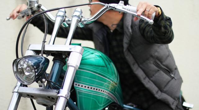 バイカーにお薦めのバッグをバイクで撮影!!