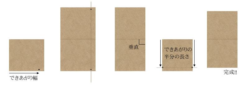 4回目、革の道具入れポーチを作る。【型紙を作る編】