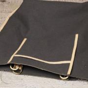 第6回目、トートバッグ本体を縫い合わせる。