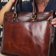 ビジネスバッグの持ち手の修理レポート