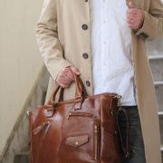 9か月待ち!!分厚い極上ヌメ革のライダーストートバッグがついに再入荷!
