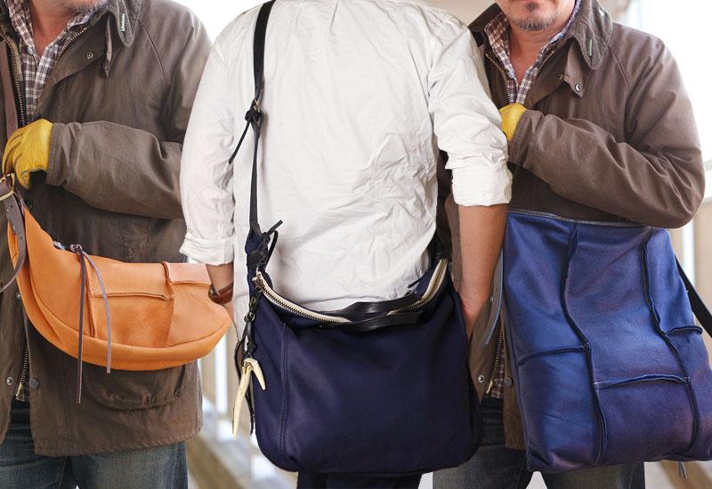 レザー中級者にお薦め「ちょっと変わった革のバッグ10選」