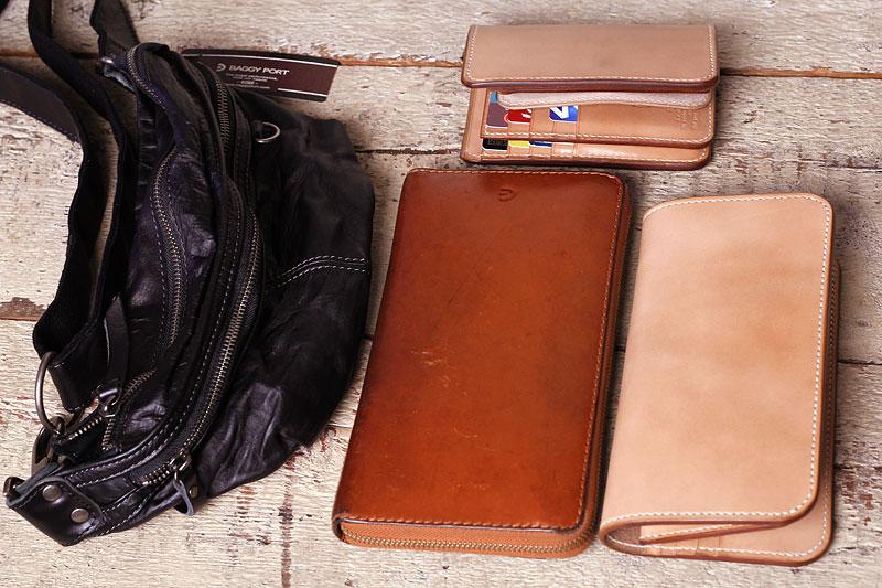 バギーポートのボディバッグMTH2603に長財布が入るのか検証