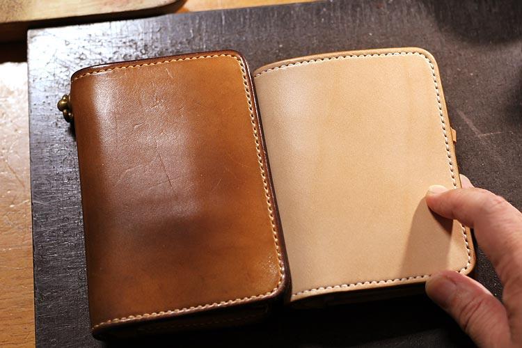ミドル財布の高さを1cm低くカスタムしてみた
