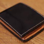 ブライドルレザー革財布のエイジングレポート